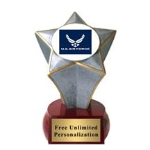 Shooting Star Air Force Insert Trophy