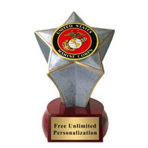 Shooting Star Marine Insert Trophy
