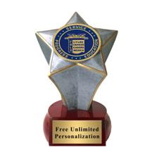 Shooting Star FBLA Insert Trophy