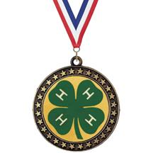 Champion Star Insert 4H Club Medal