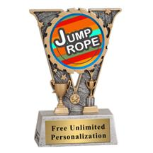 V-Series Jump Rope Insert Trophy