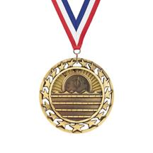 Star Circle Swim Medal