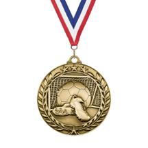 Star Wreath Soccer Medal