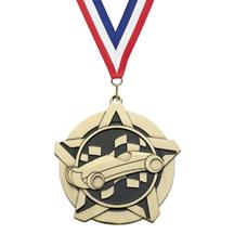 Super Star Pinewood Derby Medal