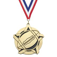 Super Star Football Medal