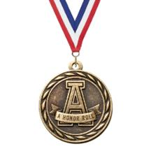 Scholastic Honor Roll -A- Medal