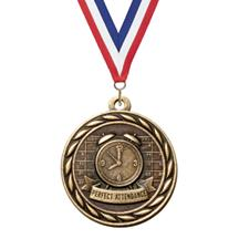 Scholastic Perfect Attendance Medal