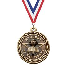 Scholastic Student of the Month Medal