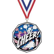 Bright Color Cheerleading Medal