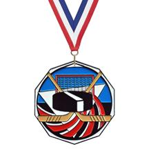 Bright Color Knowledge Medal