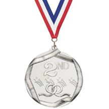 Die Cast 2nd Place Medal