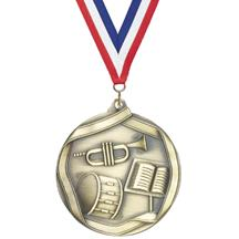 Die Cast Medal - Band