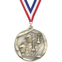 Die Cast Medal - Chess