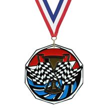 Bright Color Racing Medal