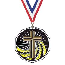Bright Color Religion Medal