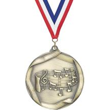 Die Cast Medal - Music