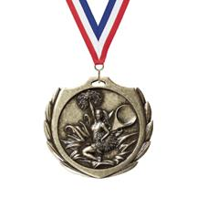 Burst Wreath Cheer Medal