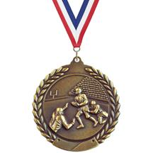 Wreath Football Medal