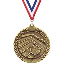 Wreath Swimming Medal