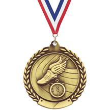 Wreath Track Medal