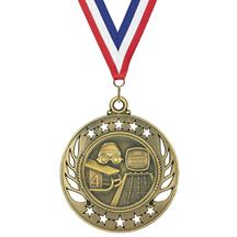 Galaxy Swimming Medal