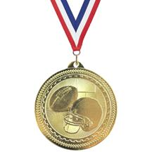 BriteLazer Football Medal