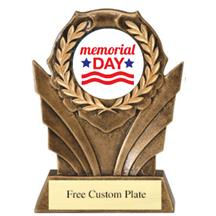 Memorial Day Day Wreath Mylar Holder