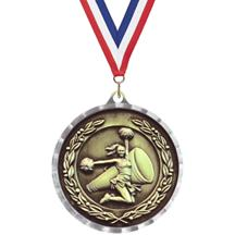 Diamond Cut Cheer Medal