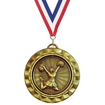Spin Cheerleading Medal