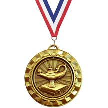 Spin Lamp of Knowledge Medal