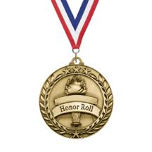 Large Star Wreath Honor Roll Medal