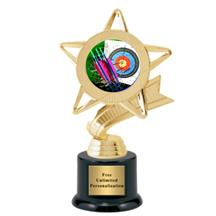Ribbon Star Archery Trophy