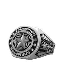 Bright Silver Star Championship Ring