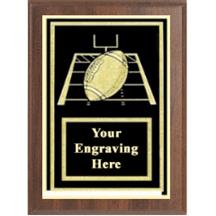 Football Activity Plaque
