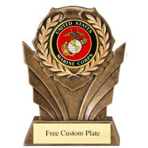 Marines Wreath Mylar Holder