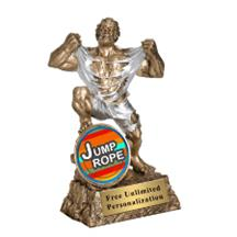 Monster Victory Jump Rope Insert Trophy