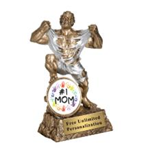 Monster Victory Mother's Day Insert Trophy