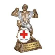 Monster Victory Red Cross Insert Trophy