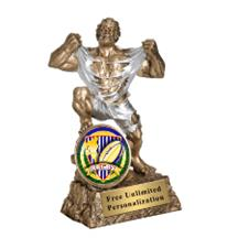 Monster Victory Rugby Insert Trophy