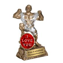 Monster Victory Valentine's Day Insert Trophy