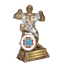 Monster Victory VFW Insert Trophy