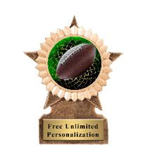 Football Star Insert Trophy