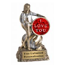 Super Hero Valentine's Day Insert Trophy