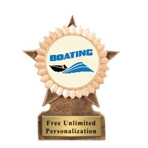 Star Insert Boating Trophy