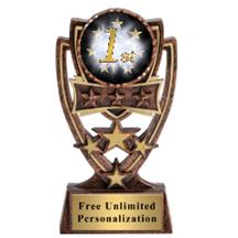 Four Star 1st Place Insert Trophy