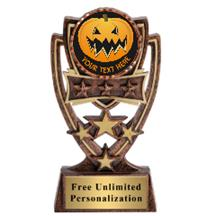 Four Star Halloween Insert Trophy