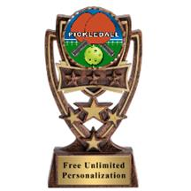 Four Star Pickleball Insert Trophy