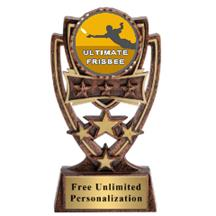 Four Star Ultimate Frisbee Insert Trophy