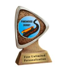Triad Pinewood Derby Insert Award