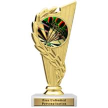 Rising Wreath Darts Insert Trophy
